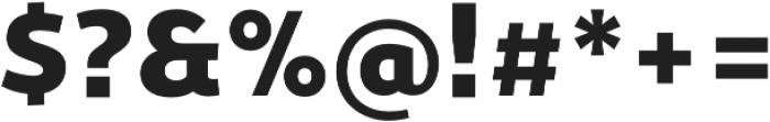 Ergonomique Lite Black otf (900) Font OTHER CHARS