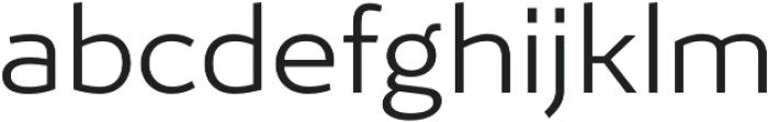 Ergonomique Lite Light otf (300) Font LOWERCASE