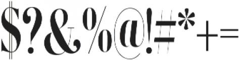 Erica Serif otf (400) Font OTHER CHARS
