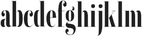 Erica Serif otf (400) Font LOWERCASE