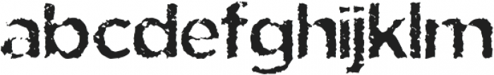 Eride otf (400) Font LOWERCASE
