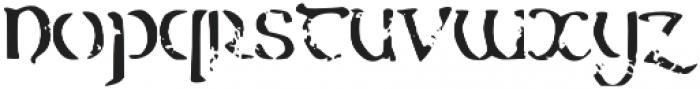 Erin_Aged otf (400) Font LOWERCASE