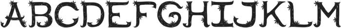 Erion-Handdrawn-Winter otf (400) Font LOWERCASE