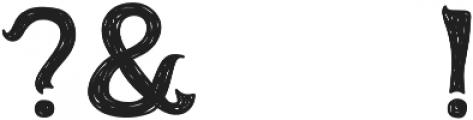 Erion-Handdrawn otf (400) Font OTHER CHARS
