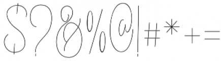 ErlangSignature otf (400) Font OTHER CHARS