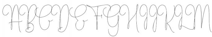 ErlangSignature otf (400) Font UPPERCASE