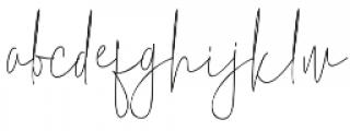 ErlangSignature otf (400) Font LOWERCASE