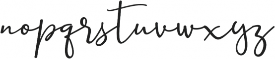 Ernita otf (400) Font LOWERCASE