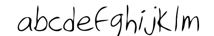Eric Regular Font LOWERCASE