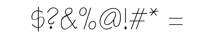 ER Architect Mac Font OTHER CHARS