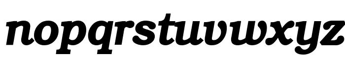 ER Bukinist 1251 Bold Italic Font LOWERCASE
