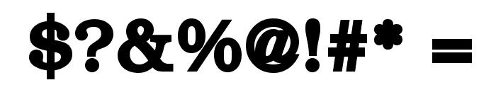 ER Bukinist 1251 Bold Font OTHER CHARS