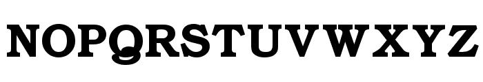 ER Bukinist 1251 Bold Font UPPERCASE