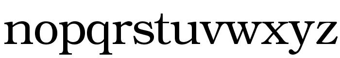 ER Bukinist 1251 Font LOWERCASE