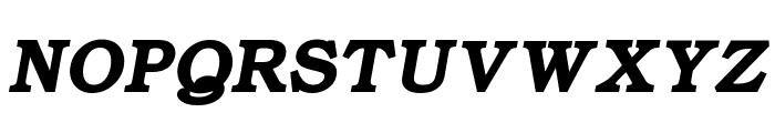 ER Bukinist 866 Bold Italic Font UPPERCASE