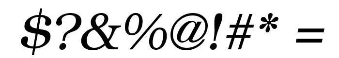 ER Bukinist 866 Italic Font OTHER CHARS