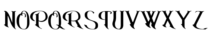 Erasmus Font UPPERCASE