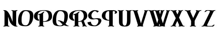 ErasmusInline Bold Font UPPERCASE