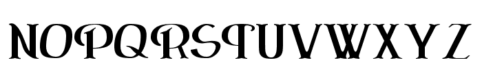 ErasmusInline Font UPPERCASE