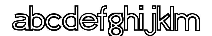 Erasure Regular Font UPPERCASE