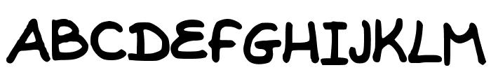 EraysWriting Font UPPERCASE