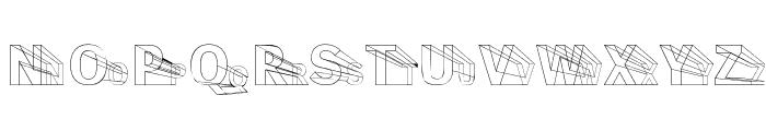 Erectlorite Light Font UPPERCASE
