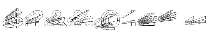 Erectlorite Reft Font OTHER CHARS