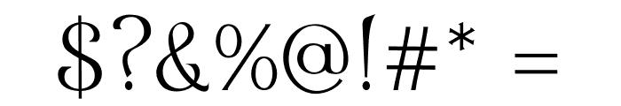Eremite Regular Font OTHER CHARS