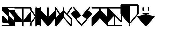 Ergonomix Font UPPERCASE