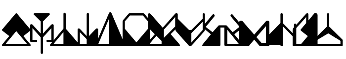 Ergonomix Font LOWERCASE