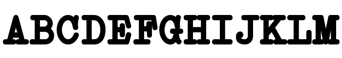 Erica Type Bold Font UPPERCASE