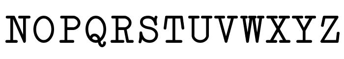 Erica Type Font UPPERCASE
