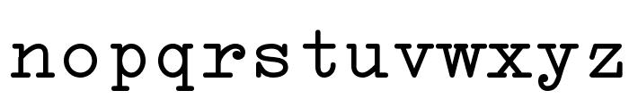 Erica Type Font LOWERCASE