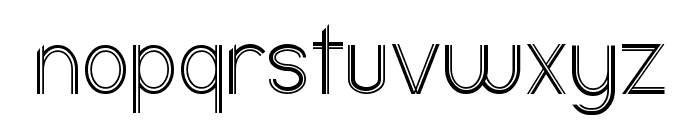 Ericott Font LOWERCASE
