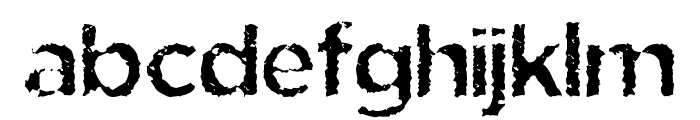 Eride Font LOWERCASE
