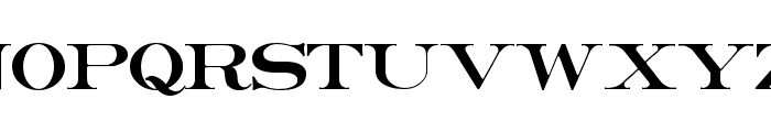Erie Roman Font UPPERCASE