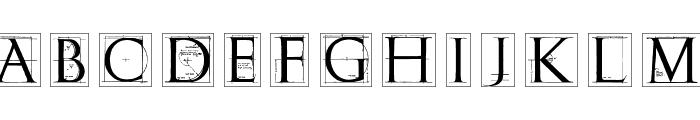 ErikGCapsSkInvers Font LOWERCASE