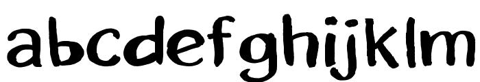 ErikSans Font LOWERCASE