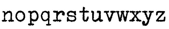 Erikas Farbband Font LOWERCASE