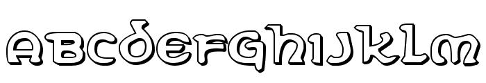Erin Go Bragh 3D Font UPPERCASE