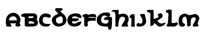 Erin Go Bragh Bold Font LOWERCASE