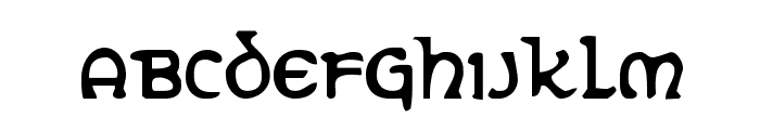 Erin Go Bragh Condensed Font LOWERCASE