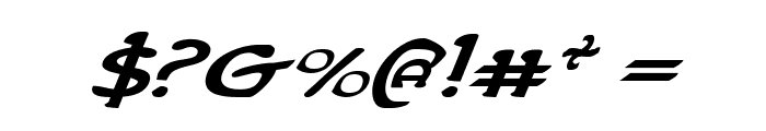 Erin Go Bragh ExpandItalic Font OTHER CHARS