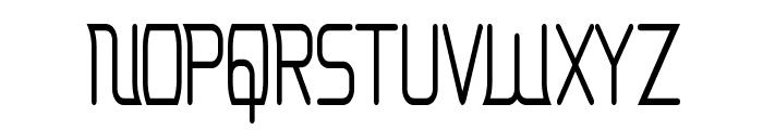 Erinal Narrow Font UPPERCASE