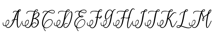 ErittaSlant-Bold Font UPPERCASE