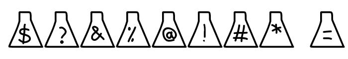 ErlenmeyerFlask Font OTHER CHARS