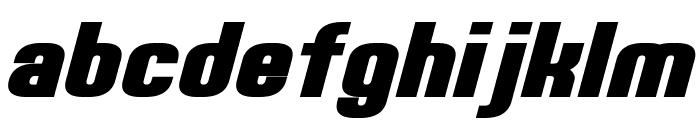 Erte Bold Italic Font LOWERCASE