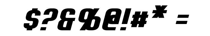 Erte Italic Font OTHER CHARS