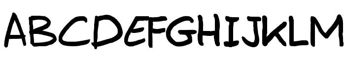 Erwin Plain Font UPPERCASE