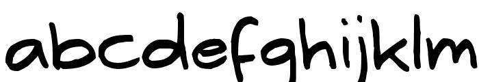 Erwin Plain Font LOWERCASE